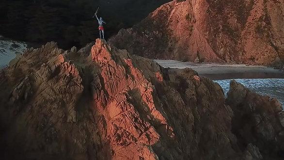 Avatar Bodypaint in Big Sur, CA