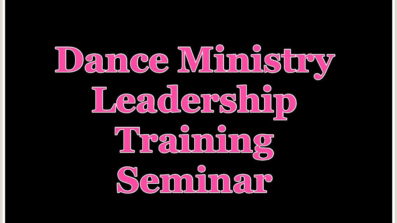 Leadership Training for Dancers