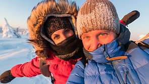 Lappland Februar 2020