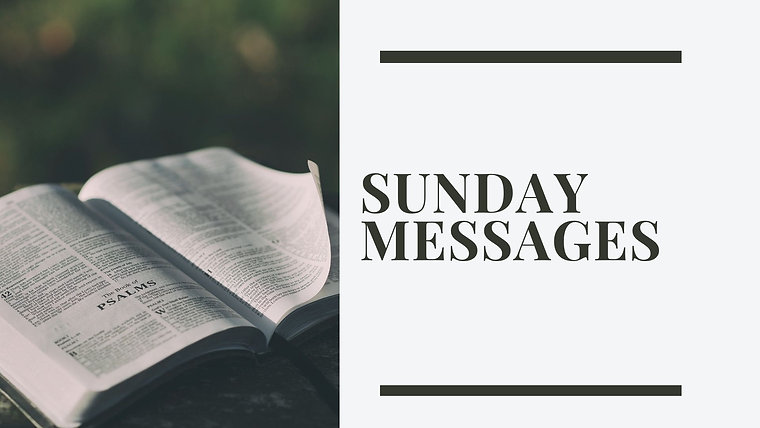 Sunday Messages