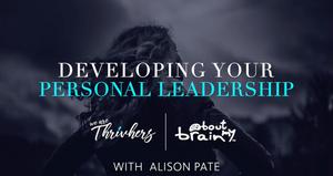 Online workshop - Developing Your Personal Leadership