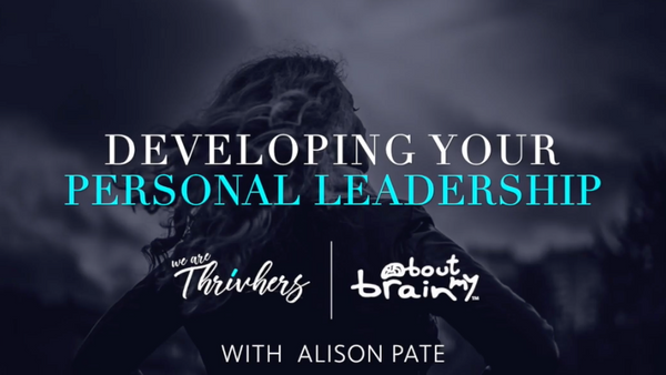 Online workshop - Developing Your Personal Leadership