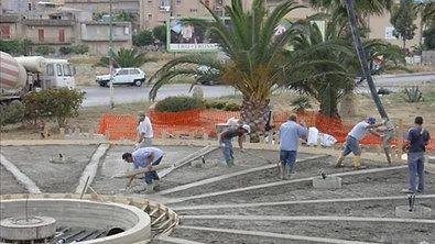 Esempio di costruzione fontana in località Gela