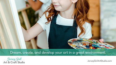 commercial for Jersey Girl Art Studio