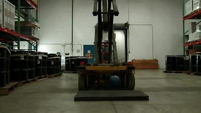 PORON XRD Forklift Test