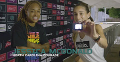 NC Courage Post Match One Interview WICC 2019