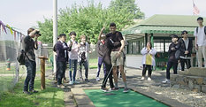 Washington Justice Plays Mini Golf