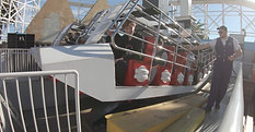 Washington Justice Visits Luna Park