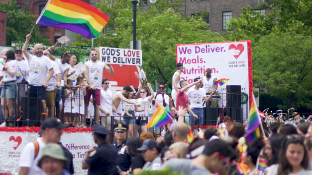 God's Love We Deliver at the 49th Annual NYC Pride
