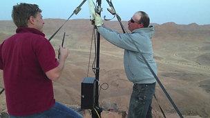 Работа по установке радиоборудования