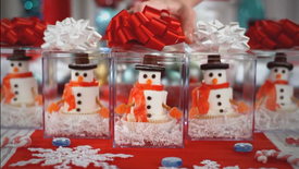 Walmart - Cake Wars Christmas Vignette