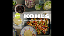 Food Network + Kohl's Outdoor Entertaining Social Video