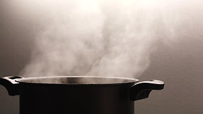Pot with Steam, Cooking