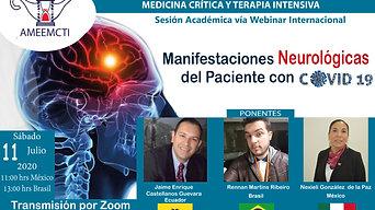Manifestaciones Neurológicas del Paciente con COVID-19