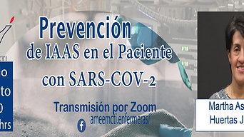 Prevención de IAAAS en el Paciente con SARS-COV-2Ameemcti
