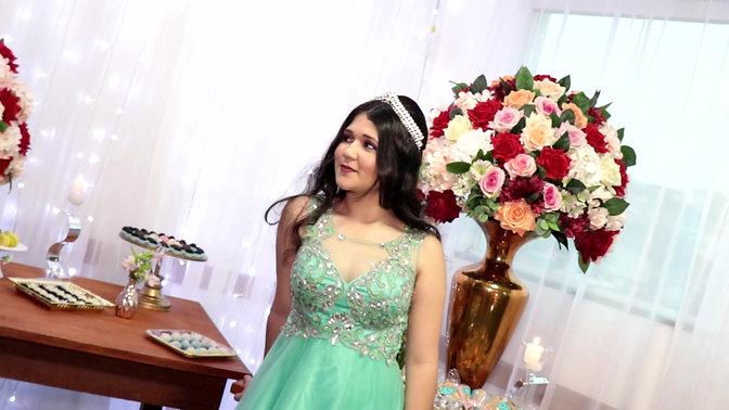 Ana Clara 15 anos