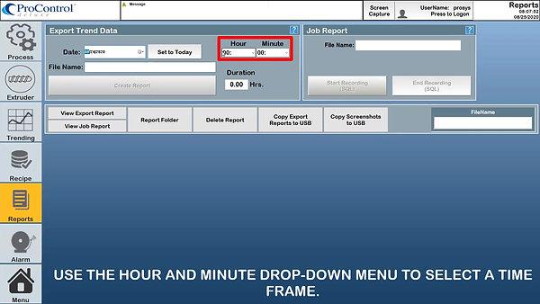 Reports - ProSystem's ProControl Deluxe