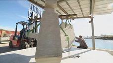 Marseille  une expérience pour restaurer la calanque de Cortiou