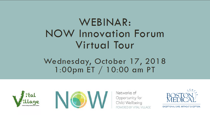 October 17, 2018: NOW Innovation Forum Virtual Tour