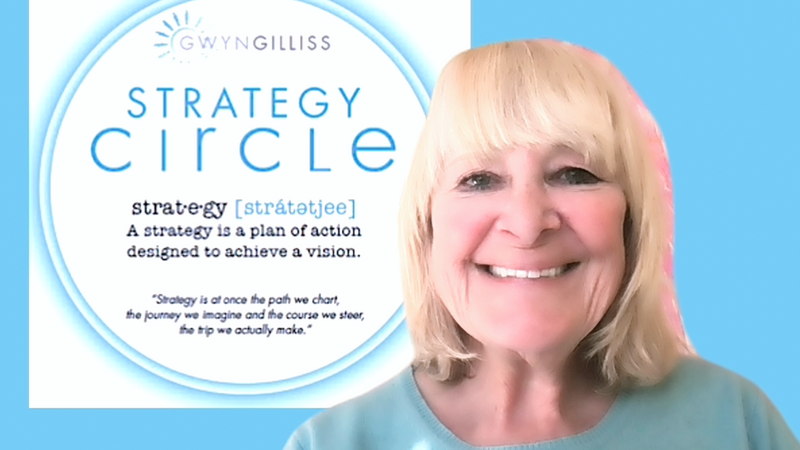 Gwyn Gilliss talks about STRATEGY circle
