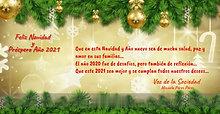 Felicitación Navidad y Año Nuevo