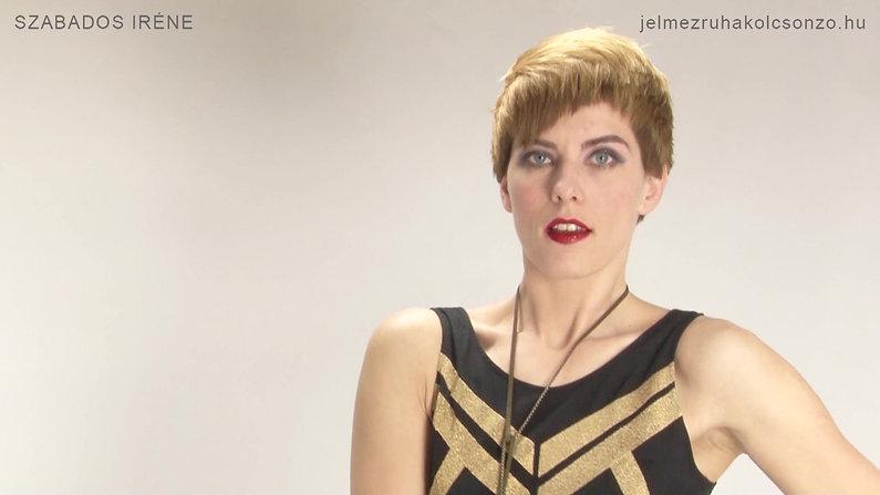 Gatsby, flapper outfit bemutató videók