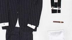 Csíkos gengszter öltöny