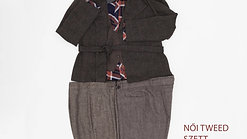 női tweed szett
