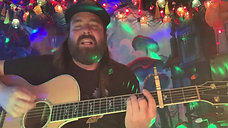 """Stefan Couture sharing his song """"Hope"""" on the Southwick's ZOOmathon"""