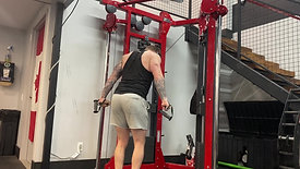 Crossover Cable Tricep Pushdown