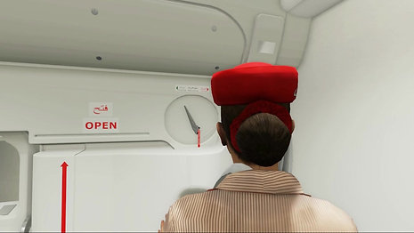 Emirates In-Flight (Style Guide: Dubbed Voice & Informative)