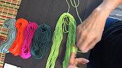 Unpacking Multi Yarn Skeins