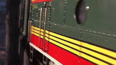 SJP Custom Shop SEABOARD LGB F7 w/ train