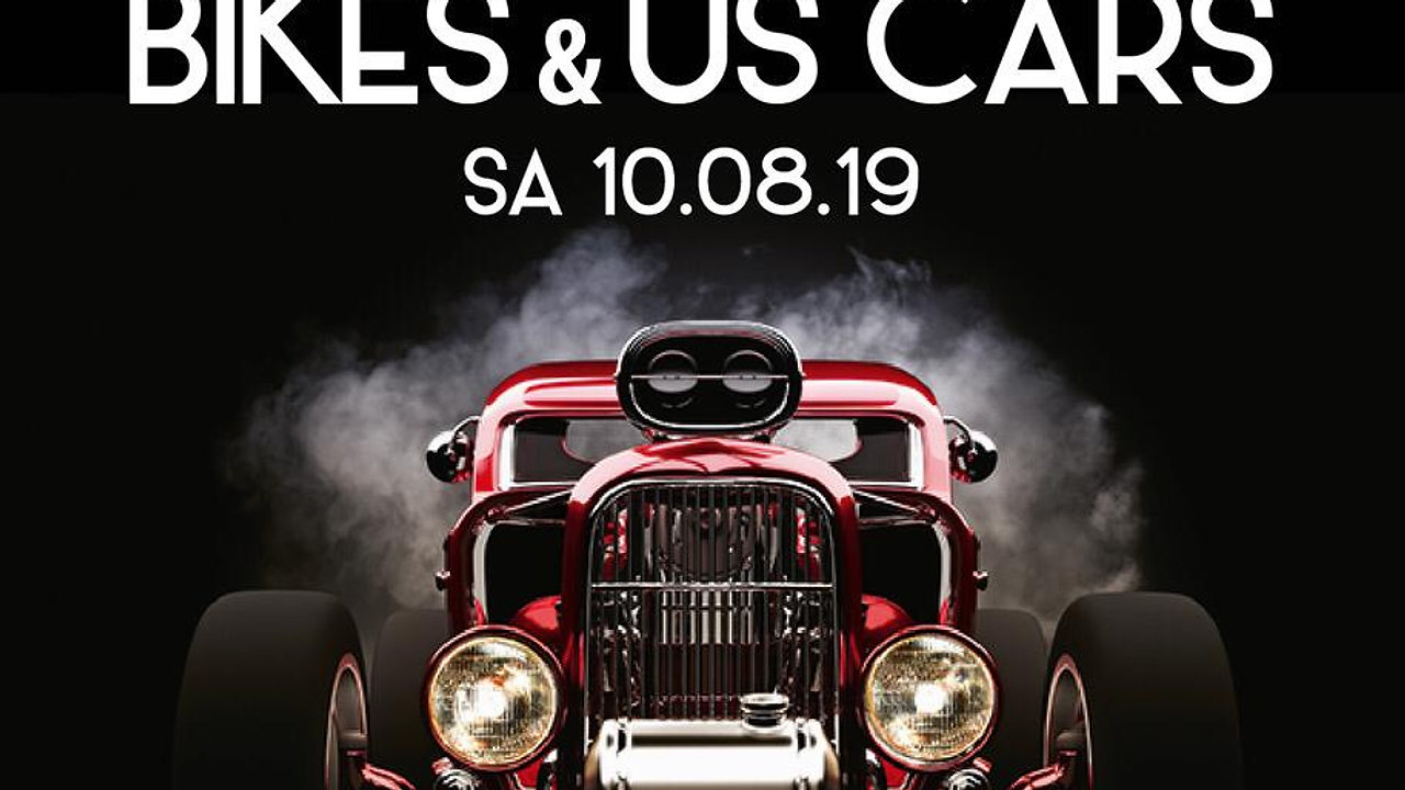 Bike & US-Cars mit BBQ & Live Band