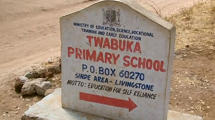 Twabuka School, Zambia, Laptop Delivery