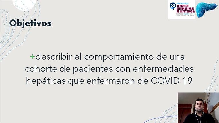 Comportamiento de las enfermedades hepáticas en una cohorte de pacientes colombianos con COVID 19
