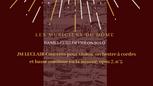 Les Musiciens du Dôme-Leclair-Concerto pour violon, orchestre à cordes et basse continue en la mineur, opus 7, n°5