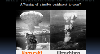 Why Hiroshima & Nagasaki
