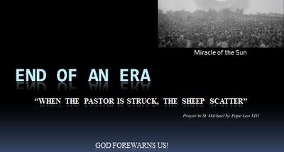 Pastor Struck, Sheep Scattered