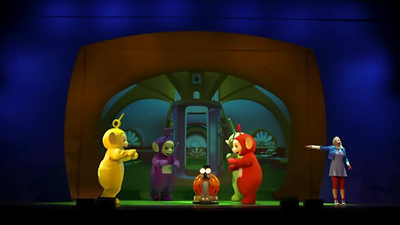 teletubbies live show trailer
