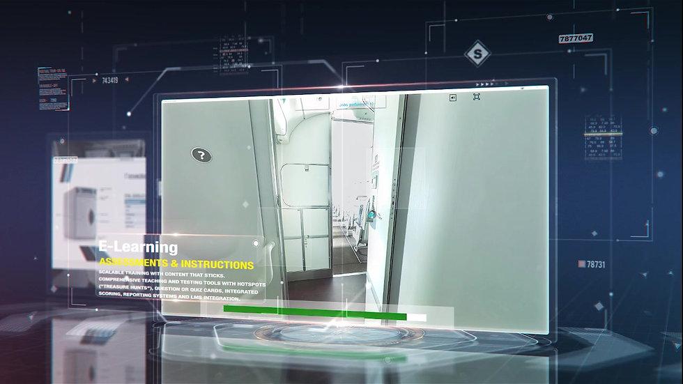 Aircraft Interior Virtual Tour
