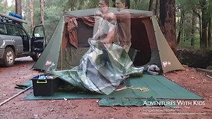 Camp Setup Timelapse at Warren River