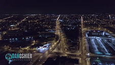Buffalo Winter Downtown Aerial