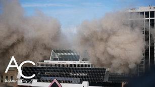 Atlantic City Trump Plaza Implosion