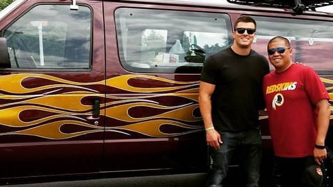 Tackle My Ride with Ryan Kerrigan and the Washington Redskins