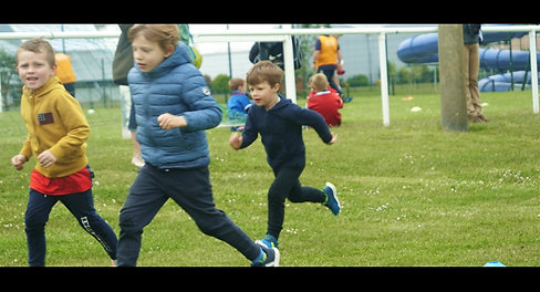 Entrainement baby-rugby, mai 2021