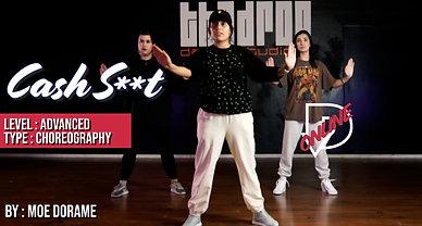 """Cash S**t"" - Moe Dorame Choreography"
