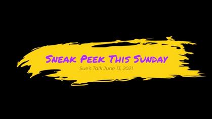 Sneak Peek for this Sunday
