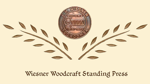 Wiesner Woodcraft Standing Press