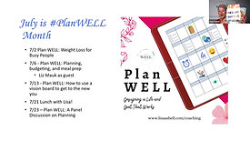*Plan WELL: Using Vision Boards to Visualize The New You